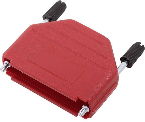 D-SUB pouzdro encitech DPPK25-R-K 6353-0103-03, pólů 25, plast, 180 °, červená, 1 ks