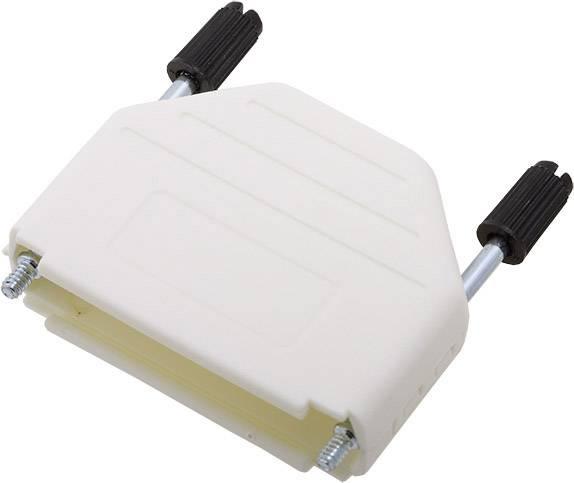 D-SUB pouzdro encitech DPPK25-W-K 6353-0107-03, pólů 25, plast, 180 °, bílá, 1 ks