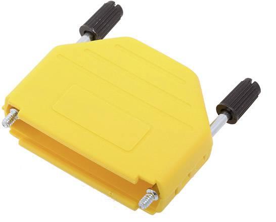 D-SUB pouzdro encitech DPPK25-Y-K 6353-0105-03, pólů 25, plast, 180 °, žlutá, 1 ks