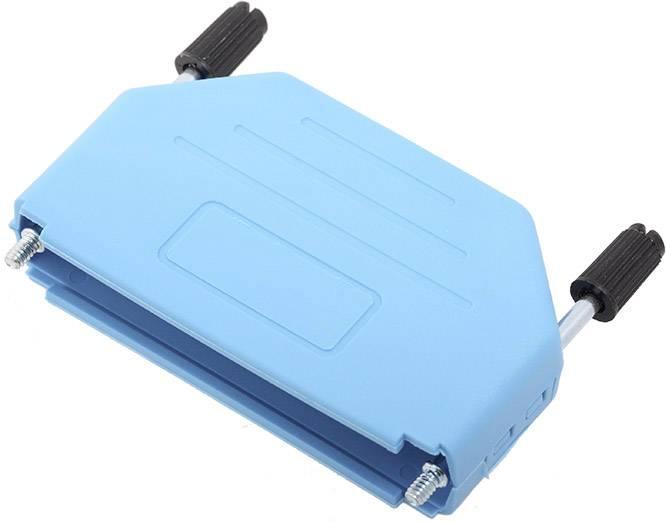 D-SUB pouzdro encitech DPPK37-B-K 6353-0104-04, pólů 37, plast, 180 °, modrá, 1 ks