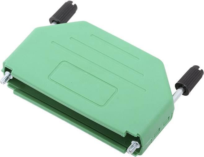 D-SUB pouzdro encitech DPPK37-G-K 6353-0106-04, pólů 37, plast, 180 °, zelená, 1 ks