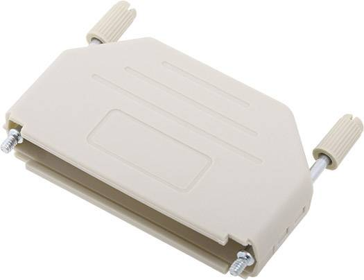 D-SUB pouzdro encitech DPPK37-LG-K 6353-0101-04, pólů 37, plast, 180 °, světle zelená, 1 ks
