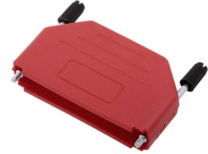D-SUB pouzdro encitech DPPK37-R-K 6353-0103-04, pólů 37, plast, 180 °, červená, 1 ks