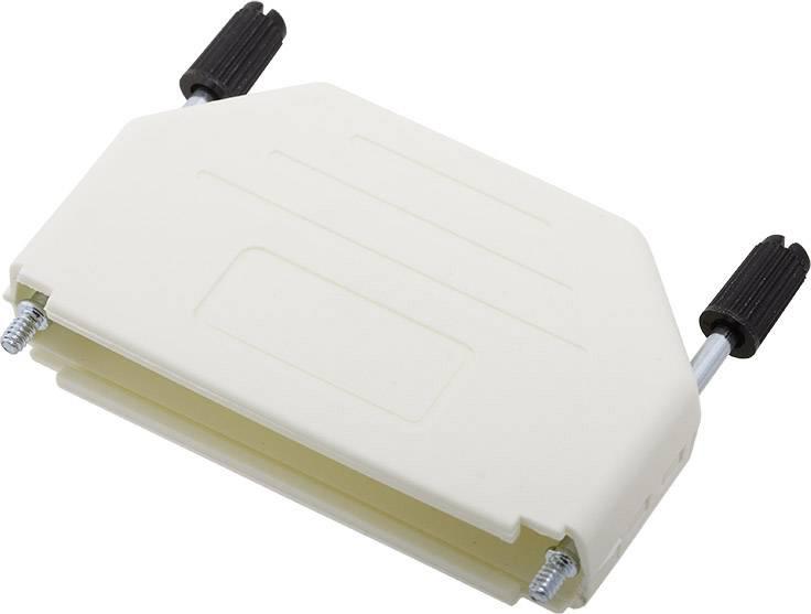 D-SUB pouzdro encitech DPPK37-W-K 6353-0107-04, pólů 37, plast, 180 °, bílá, 1 ks