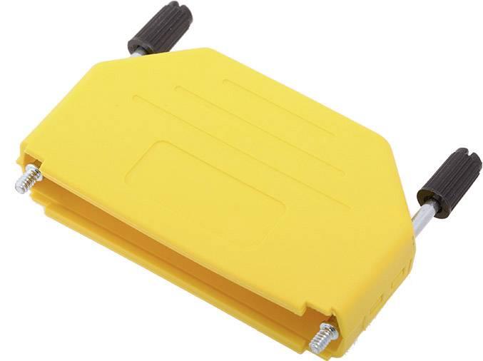 D-SUB pouzdro encitech DPPK37-Y-K 6353-0105-04, pólů 37, plast, 180 °, žlutá, 1 ks