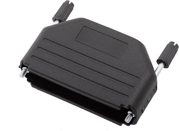 D-SUB pouzdro encitech DPPK50-BK-K 6260-0101-05, pólů 50, plast, 180 °, černá, 1 ks
