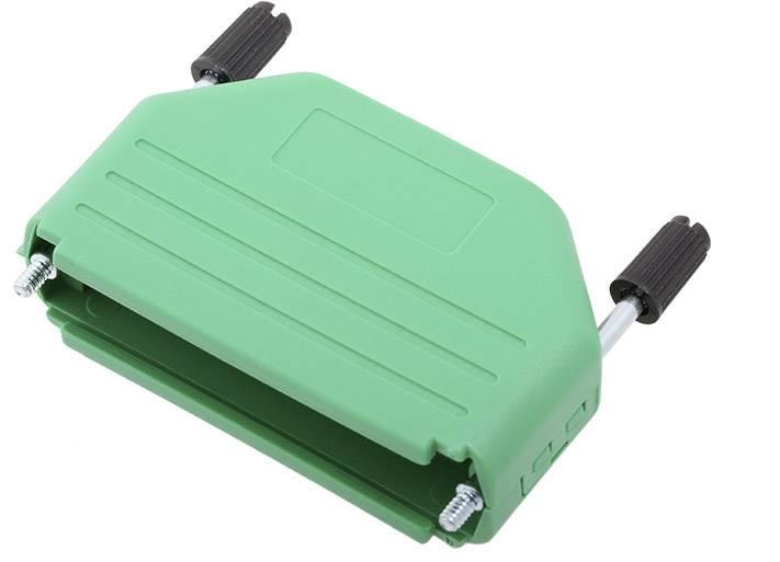 D-SUB pouzdro encitech DPPK50-G-K 6353-0106-05, pólů 50, plast, 180 °, žlutá, 1 ks