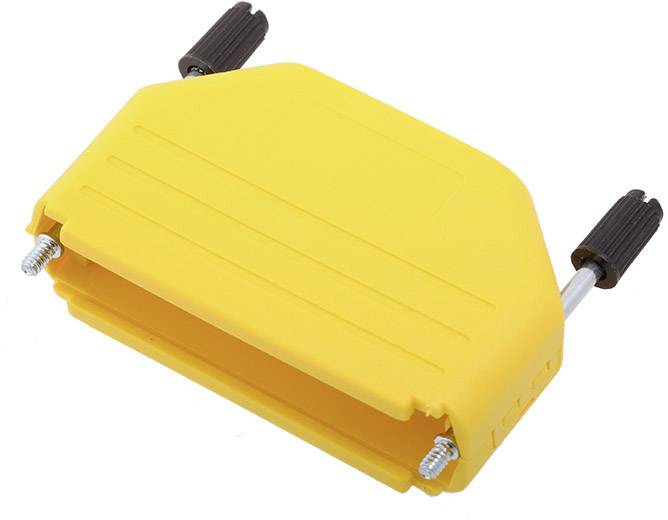 D-SUB pouzdro encitech DPPK50-Y-K 6353-0105-05, pólů 50, plast, 180 °, žlutá, 1 ks