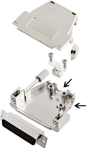 Sada D-SUB kolíkové lišty encitech DSSK25-M-HDP44-K, 45 °, 180 °, pólů 44, pájecí kalíšek, 1 ks
