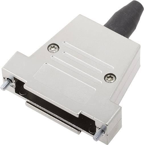 D-SUB pouzdro encitech DTSL25-RG-SJS-T-K 6560-0217-33, pólů 25, 180 °, stříbrná, 1 ks
