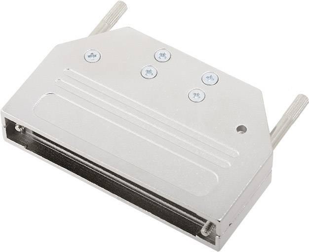D-SUB pouzdro encitech DTZI37-K 6560-0305-04, pólů 37, 180 °, stříbrná, 1 ks