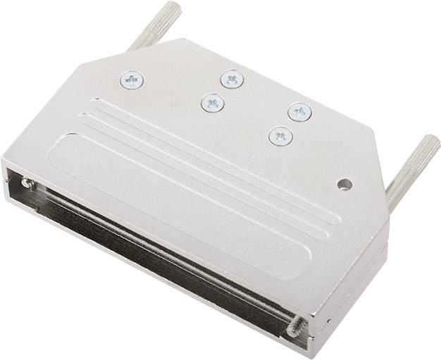 D-SUB pouzdro encitech DTZI50-K 6560-0305-05, pólů 50, 180 °, stříbrná, 1 ks