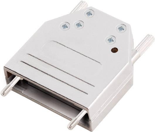D-SUB pouzdro encitech DTZK-15-HI-K 6560-0705-02, pólů 15, 180 °, stříbrná, 1 ks