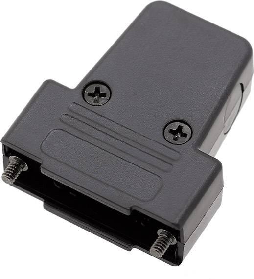 D-SUB pouzdro encitech TRI-P-15-K 6550-0101-02, pólů 15, plast, 180 °, 45 °, 45 °, černá, 1 ks