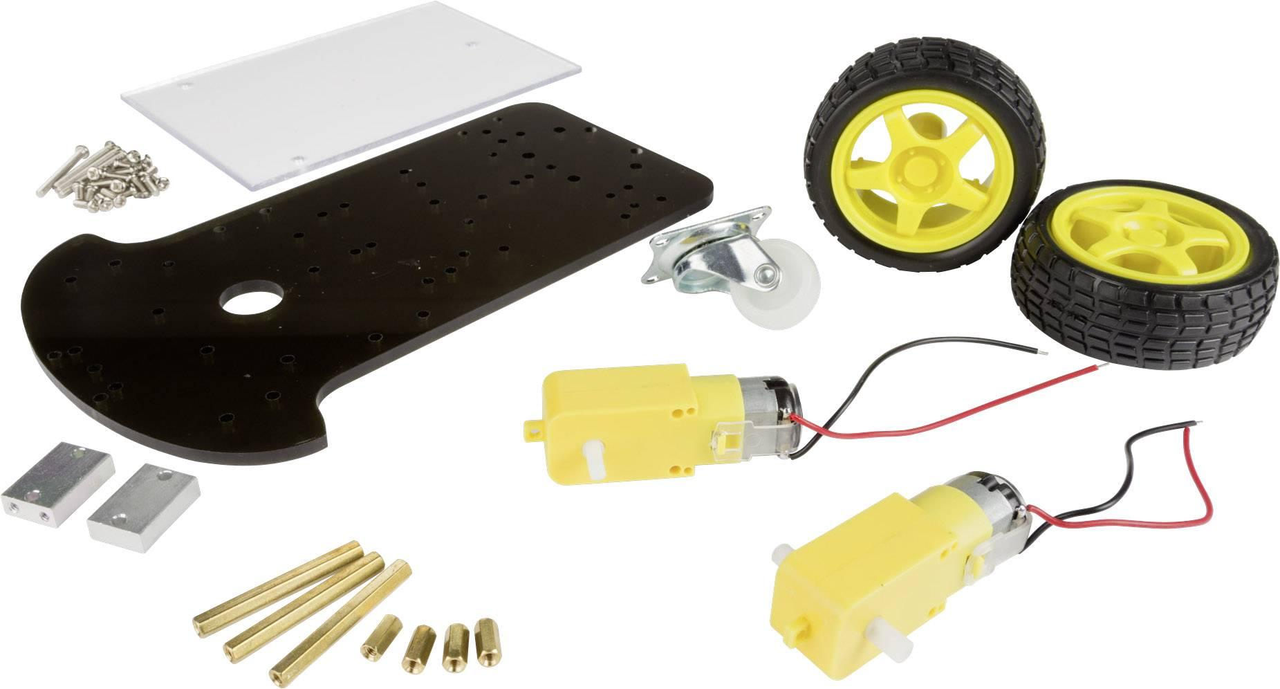 Stavebnice MAKERFACTORY s 2kolovým motorovým rámem pro roboty VMA500