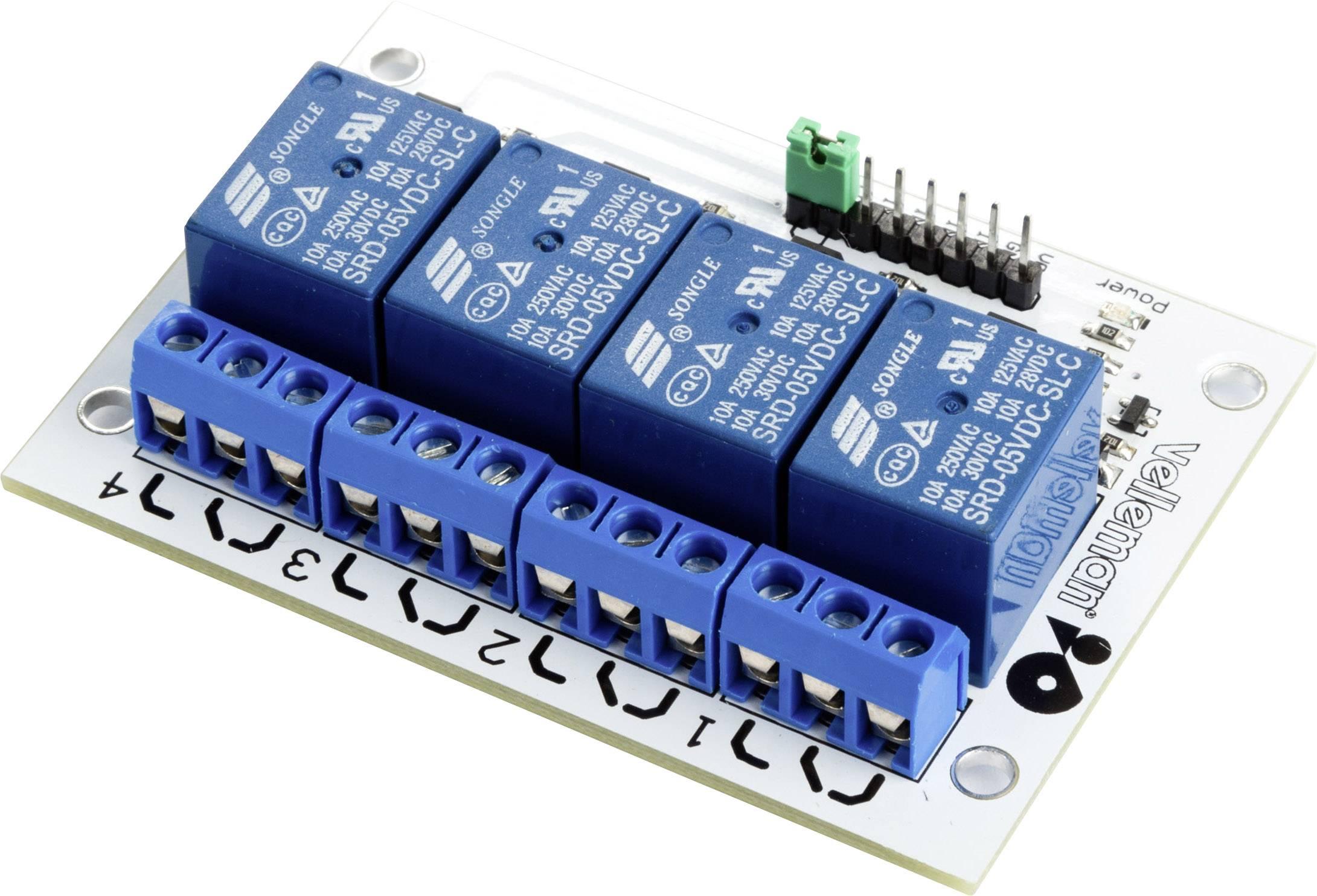 4kanálový reléový modul MAKERFACTORY VMA400