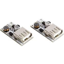 MAKERFACTORY DC-DC boost modul / (2,5 V - 5 V) 600 mA - USB 5 V (2 ks) VMA403