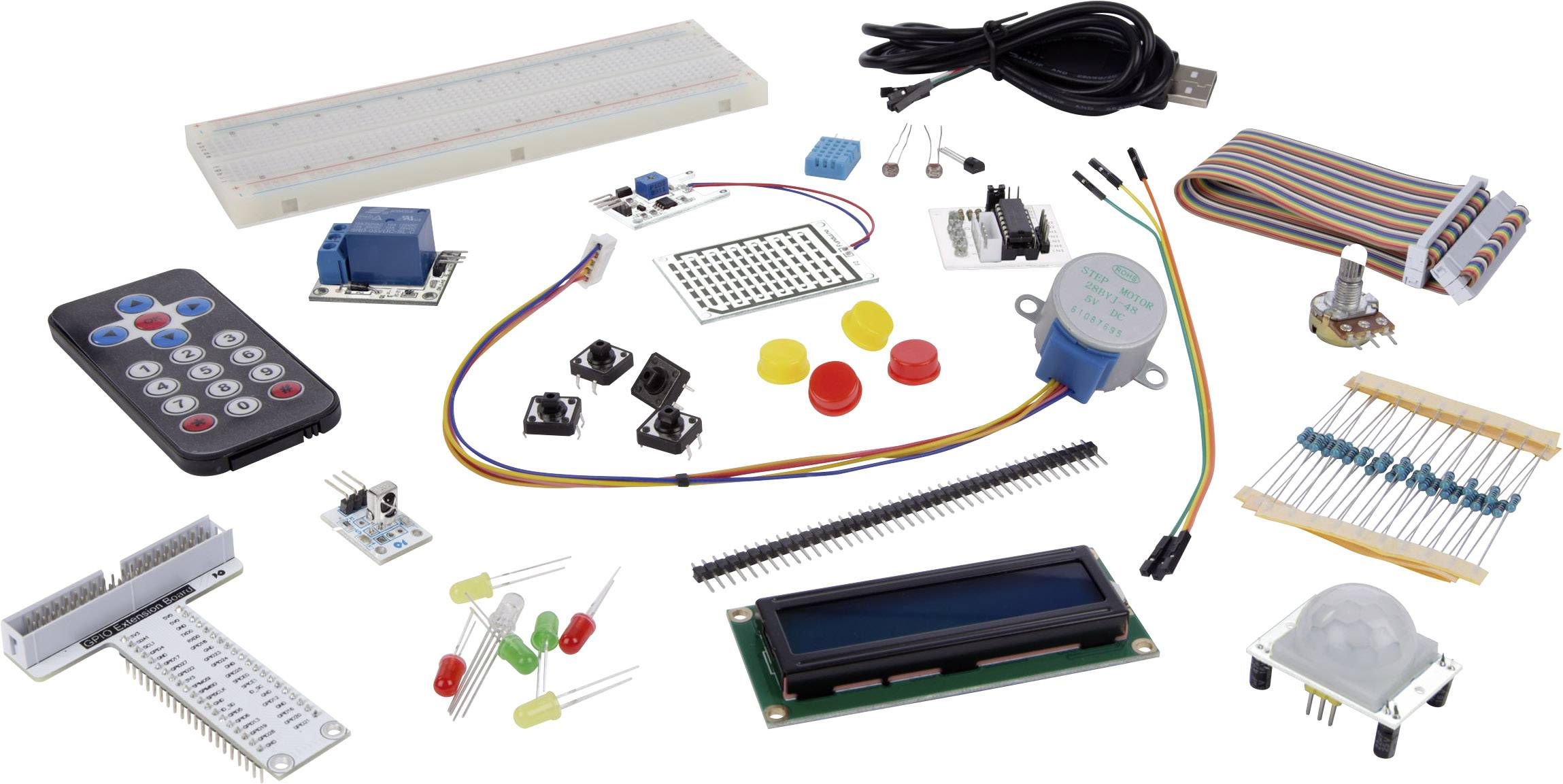 Montážní sada pro Raspberry Pi® MAKERFACTORY VMP501