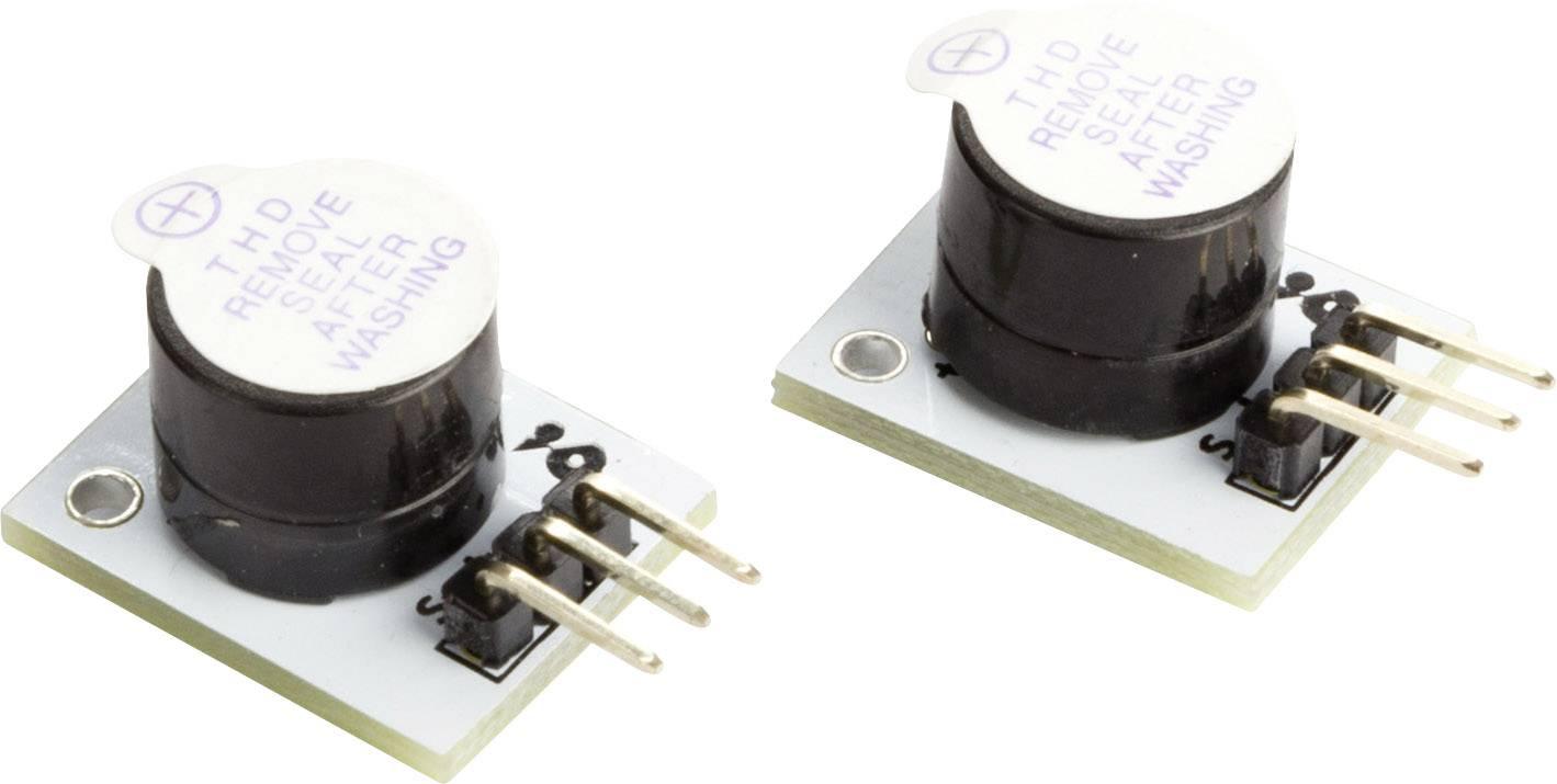 Aktivní bzučák MAKERFACTORY (2 ks) - kompatibilní s Arduino® VMA319