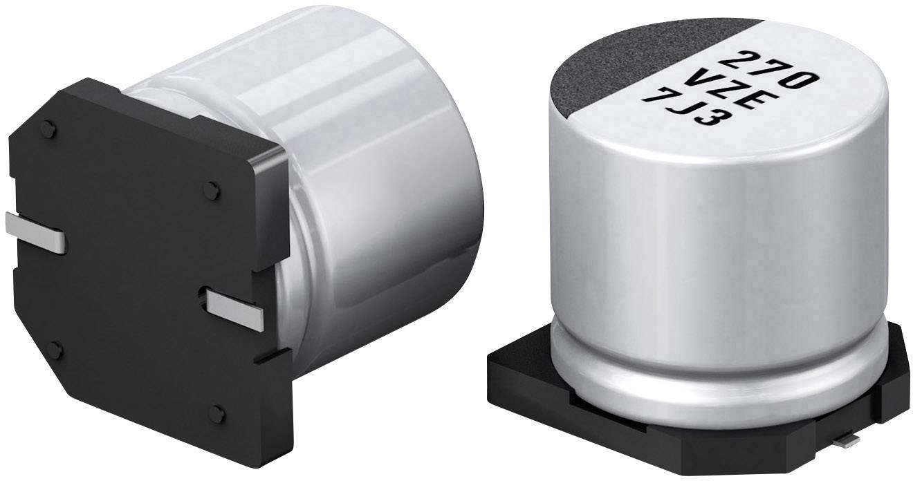 Elektrolytický kondenzátor Panasonic EEHZE1H101P, 100 µF, 50 V, 20 %, 1 ks