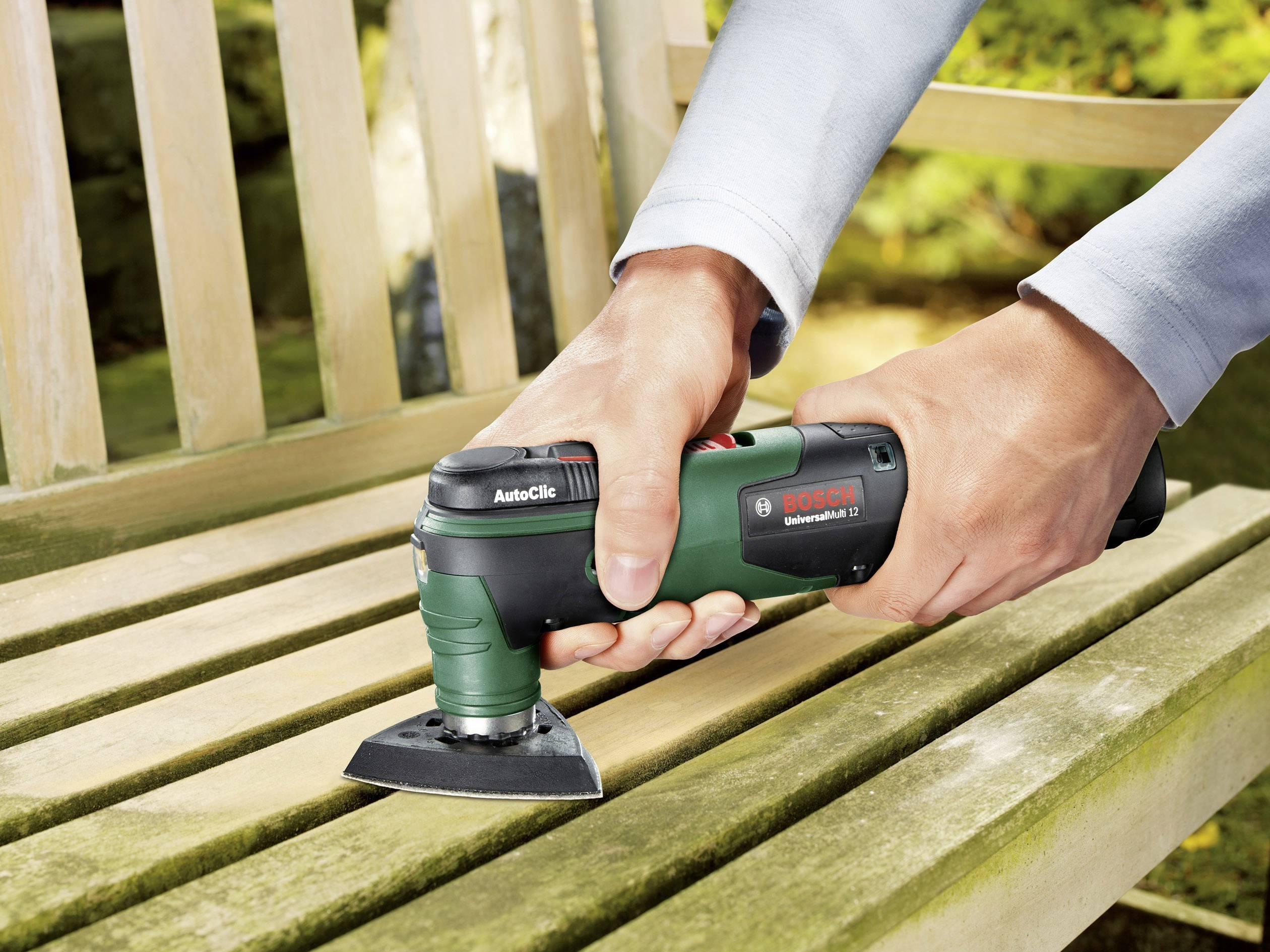 Multifunkčné náradie Bosch Home and Garden UniversalMulti 12 0603103001, + akumulátor, + púzdro