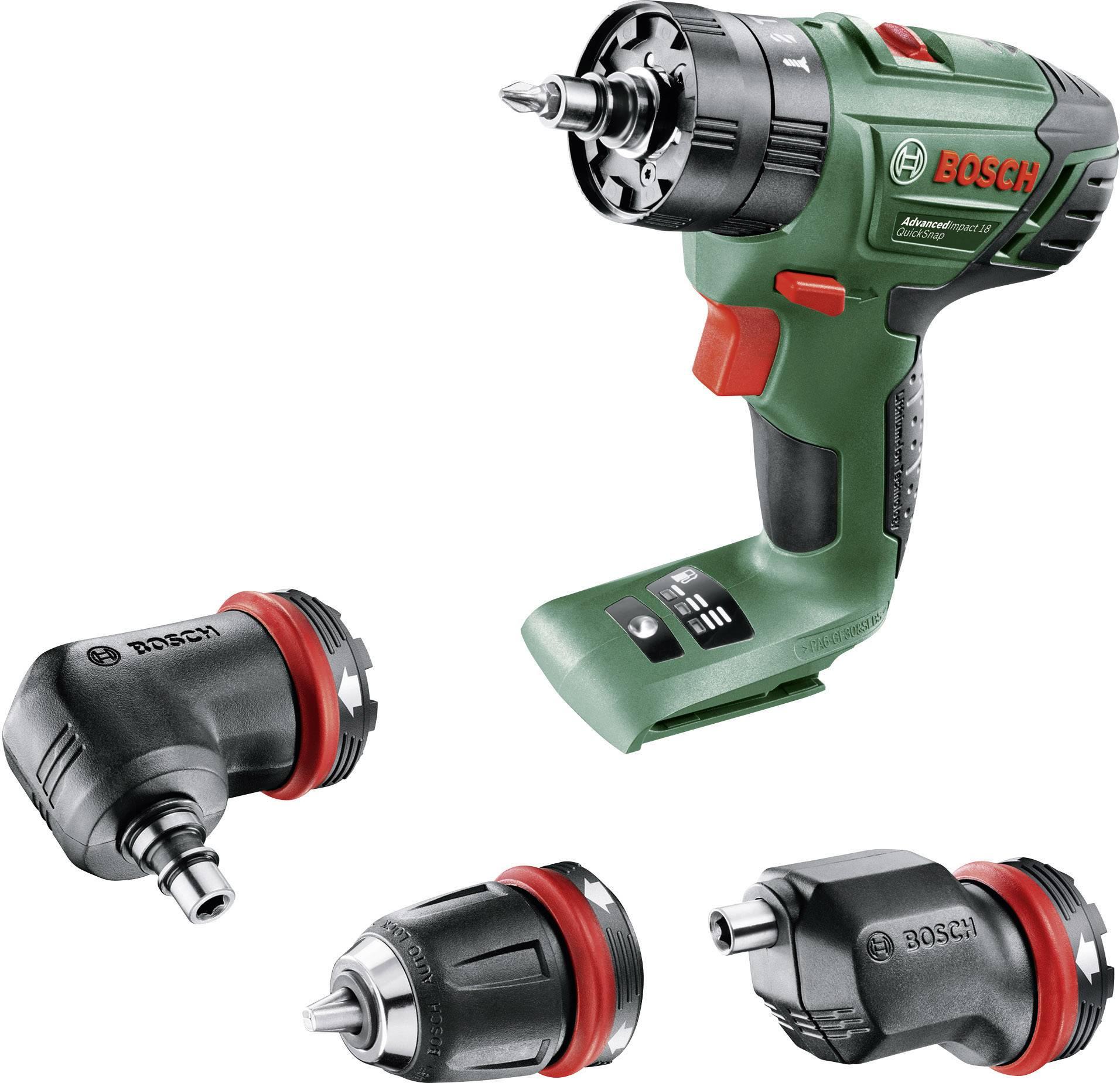 Akupríklepová vŕtačka Bosch Home and Garden AdvancedImpact 18 06039A3402, 18 V, 1.5 Ah, Li-Ion akumulátor