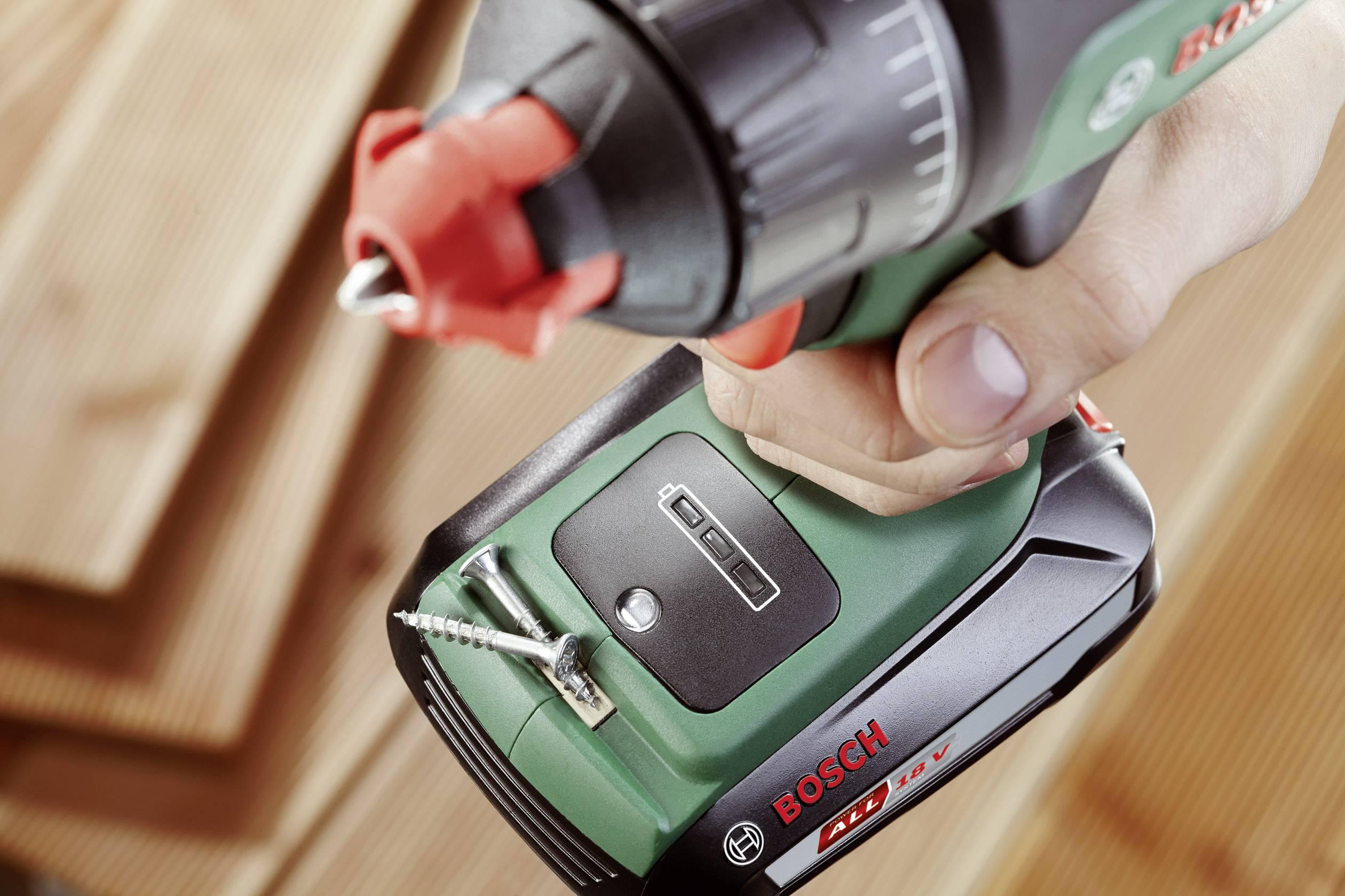 Akupríklepová vŕtačka Bosch Home and Garden AdvancedImpact 18 06039A3400, 18 V, 1.5 Ah, Li-Ion akumulátor
