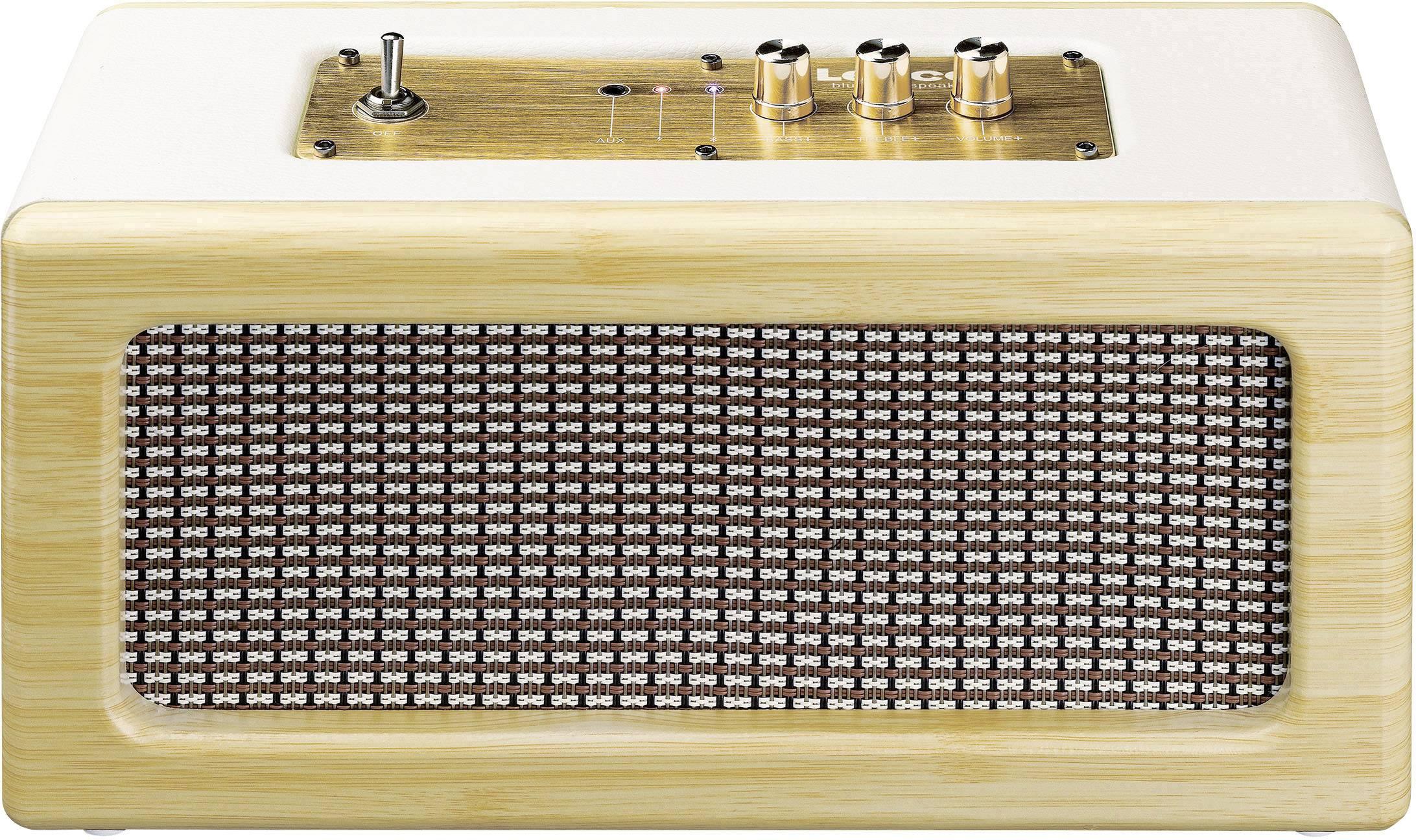 Bluetooth® reproduktor Lenco BT-300 AUX, okrová