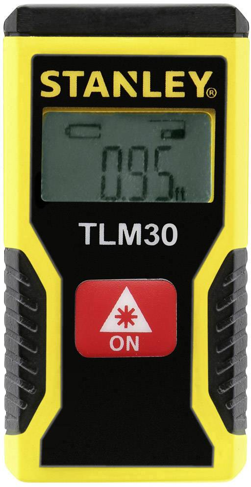 Laserový měřič vzdálenosti Stanley by Black & Decker TLM 30 STHT9-77425, max. rozsah 9 m