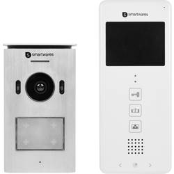 2 linka domovní video telefon Smartwares DIC-22112 DIC-22112, bílá