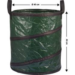 Záhradné vrece na odpad Basetech BT-1702852, 56 l, zelená