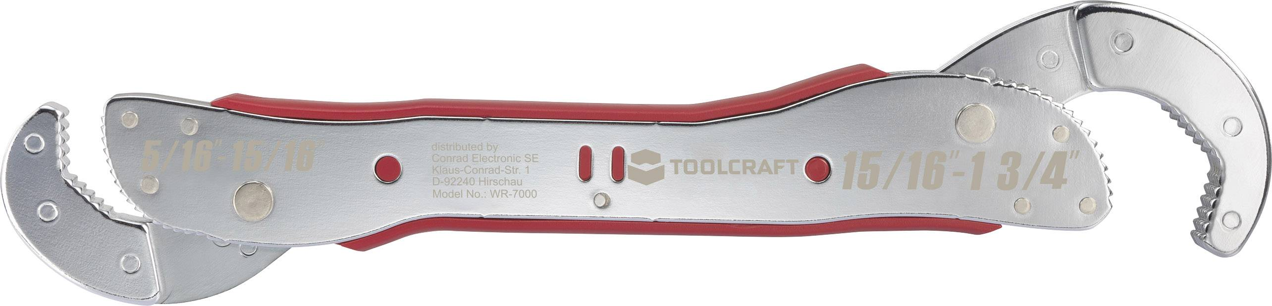 Univerzální klíč Toolcraft 9 - 45 mm
