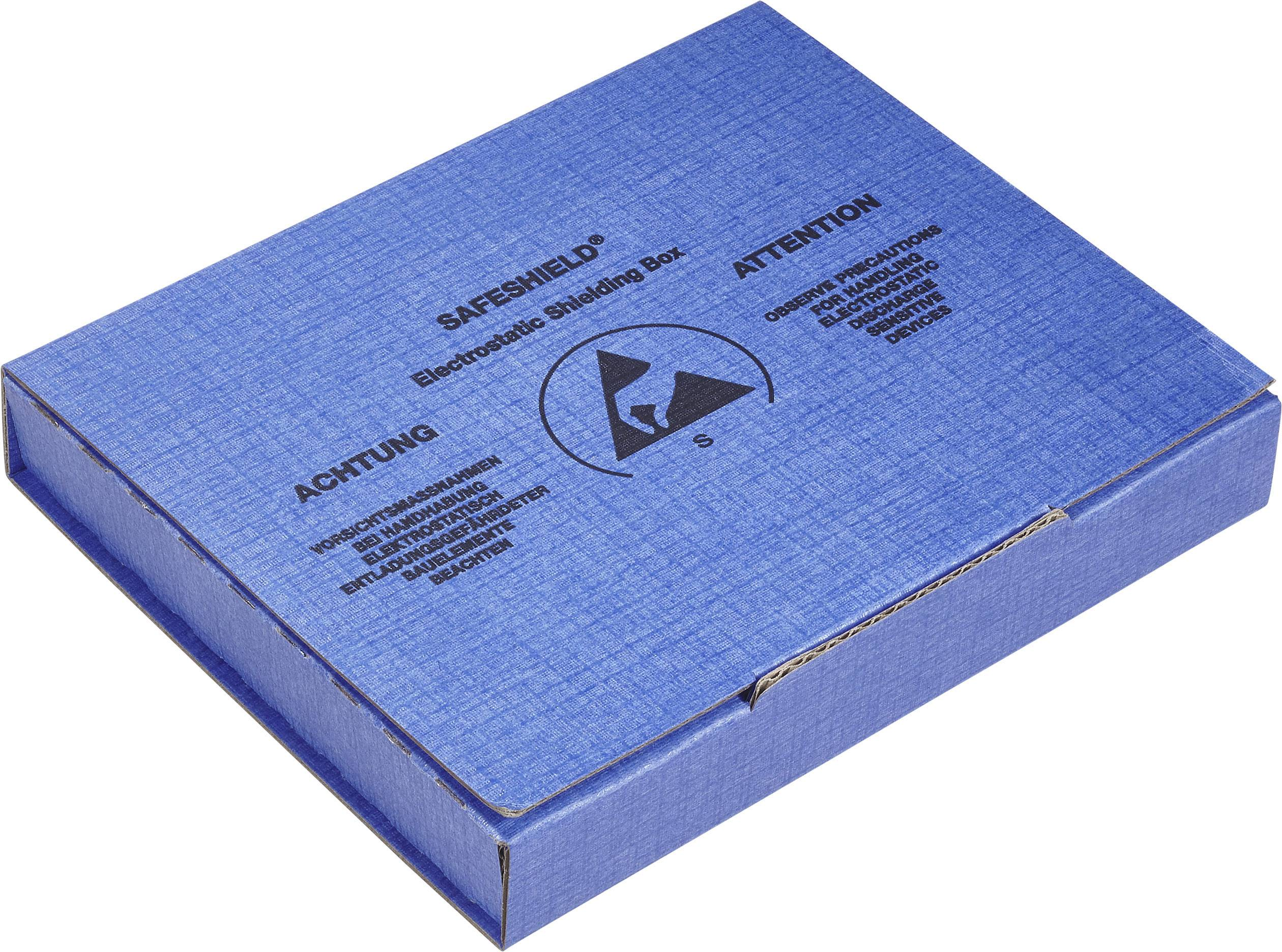 ESD krabica Wolfgang Warmbier 5510.908, (d x š x v) 100 x 60 x 15 mm, čierna