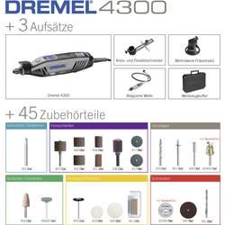 Multifunkční nářadí Dremel 4300-3/45 F0134300JA, 175 W, vč. příslušenství, kufřík