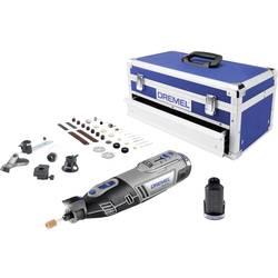 Akumulátorový multifunkční nástroj Dremel 8220-5/65 Platin Edition F0138220JK, 2 akumulátory, vč. příslušenství, kufřík