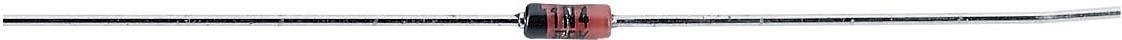 Usměrňovací dioda Diotec 1N4148, 75 V, I(F) 150 mA, DO 35
