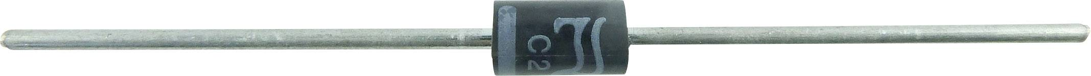 Křemíková usměrňovací dioda TRU COMPONENTS TC-1N5406, 1581852, DO-201 , 3 A, 600 V