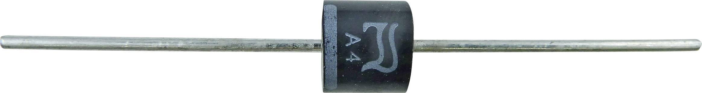 Kremíková usmerňovacia dióda Diotec P600D P600D 6 A, 200 V