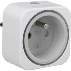 Zásuvkový měřič spotřeby el. energie a spínací zásuvka 2v1 VOLTCRAFT SEM 6000 FR, s Bluetooth, CZ verze