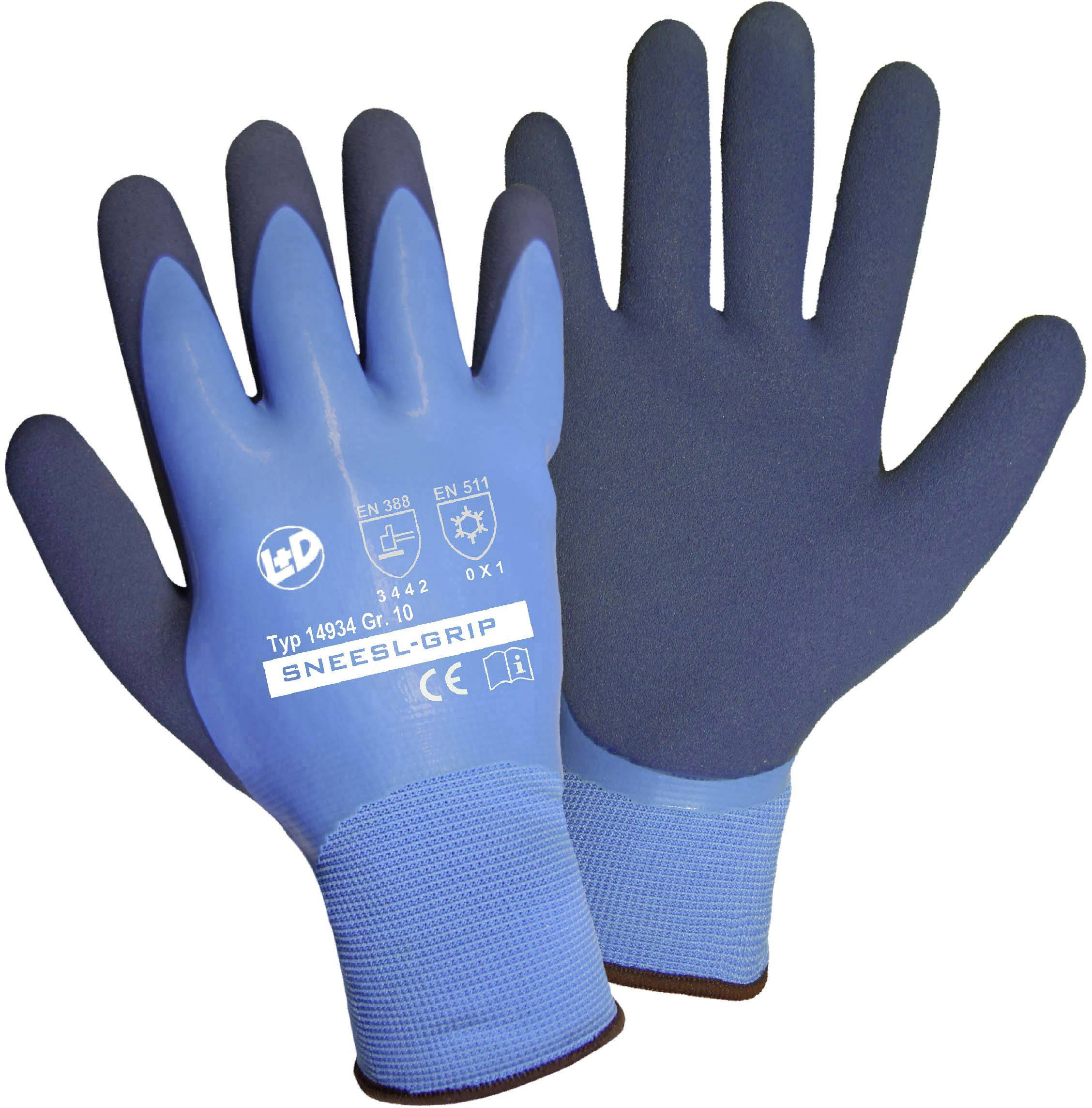 Pracovní rukavice Griffy SNEESL-GRIP 14934-8, velikost rukavic: 8