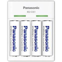 Nabíječka akumulátorů Panasonic, NiMH BQ-CC61, AAA, AA