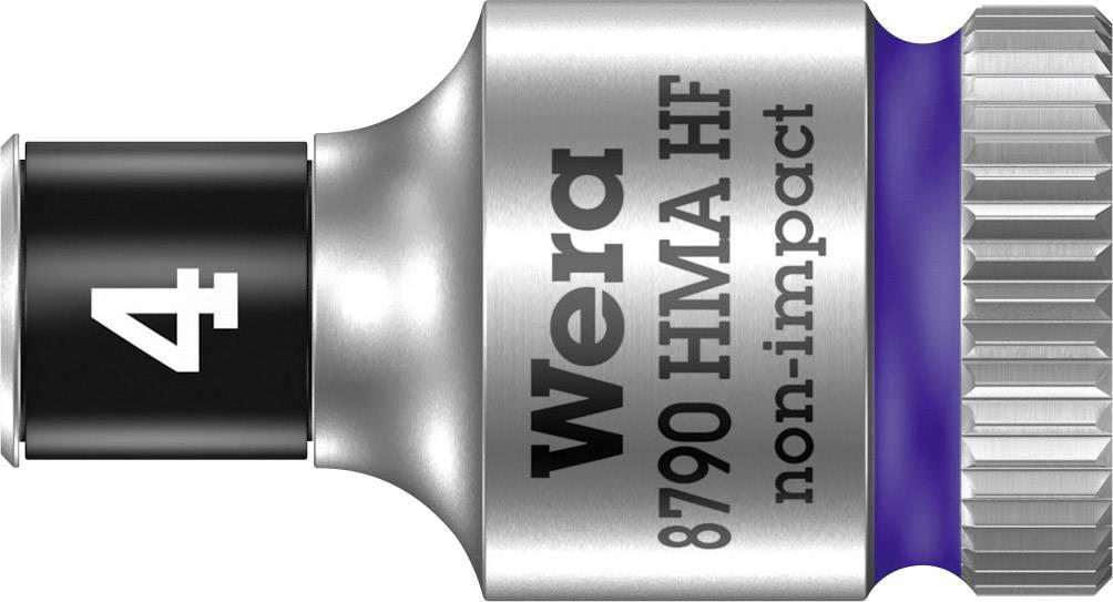 """Vložka pro nástrčný klíč Wera 8790 HMA, 4 mm, vnější šestihran, 1/4"""" (6,3 mm), chrom-vanadová ocel 05003717001"""