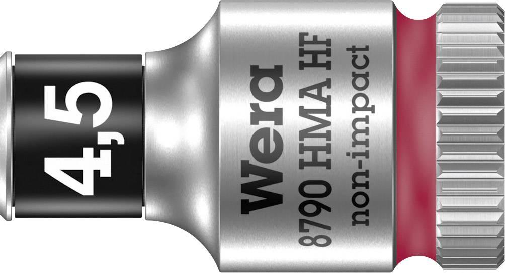 """Vložka pro nástrčný klíč Wera 8790 HMA, 4.5 mm, vnější šestihran, 1/4"""" (6,3 mm), chrom-vanadová ocel 05003718001"""