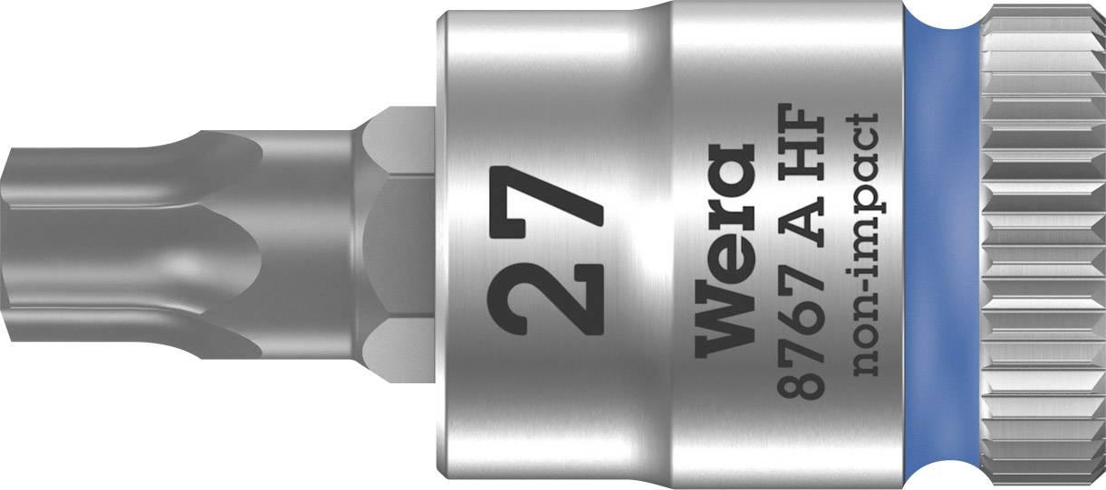 """Nástrčný kľúč, Torx Wera 8767 A 05003367001, 1/4"""" (6,3 mm), chróm-vanadiová oceľ"""