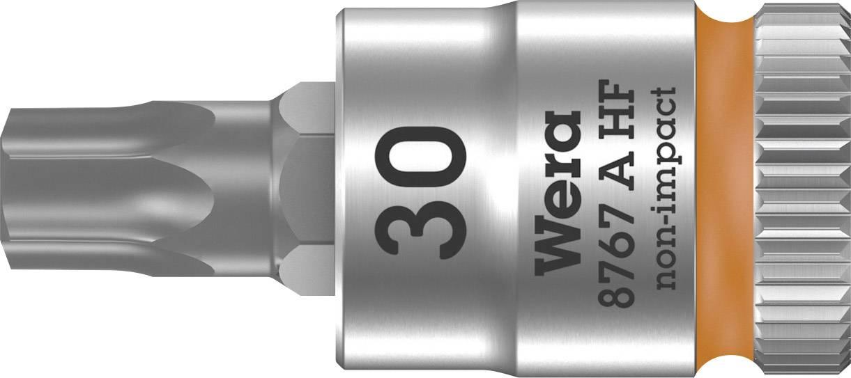 """Nástrčný kľúč, Torx Wera 8767 A 05003369001, 1/4"""" (6,3 mm), chróm-vanadiová oceľ"""