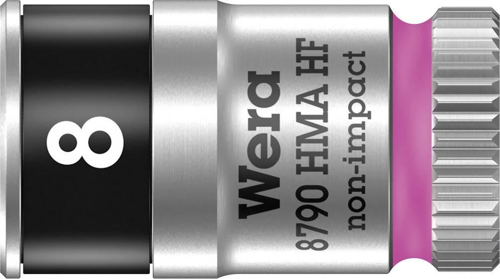 """Vložka pro nástrčný klíč Wera 8790 HMA, 8 mm, vnější šestihran, 1/4"""" (6,3 mm), chrom-vanadová ocel 05003723001"""