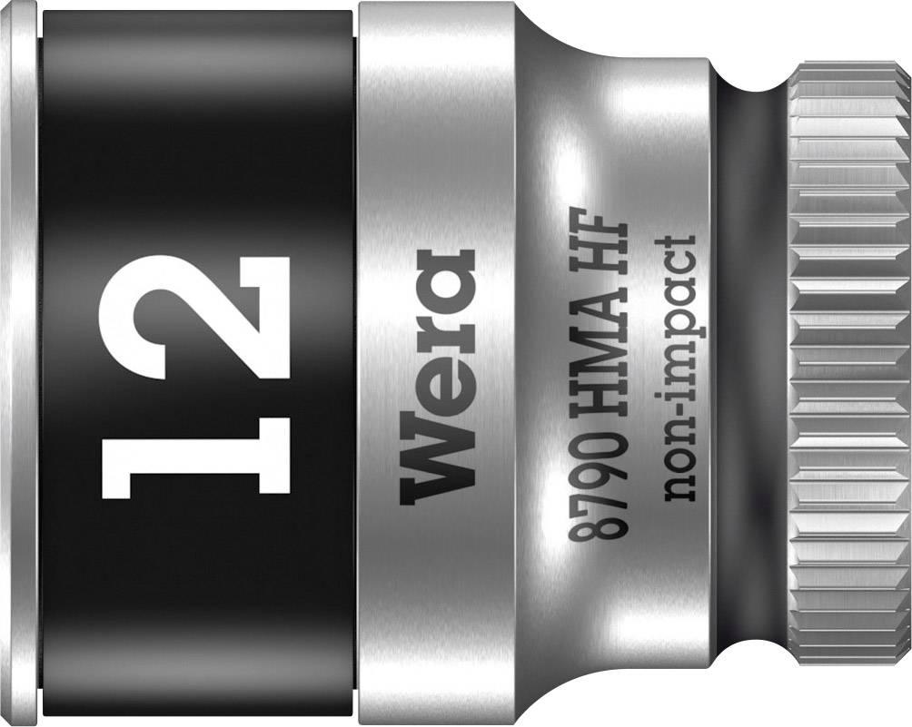 """Vložka pro nástrčný klíč Wera 8790 HMA, 12 mm, vnější šestihran, 1/4"""" (6,3 mm), chrom-vanadová ocel 05003727001"""