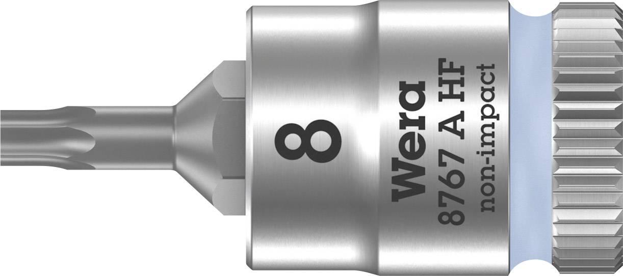 """Nástrčný klíč Wera 8767 A, TORX, 1/4"""" (6,3 mm), chrom-vanadová ocel 05003360001"""