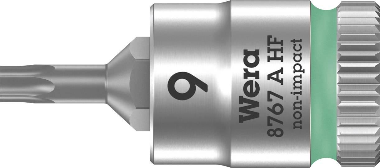 """Nástrčný kľúč, Torx Wera 8767 A 05003361001, 1/4"""" (6,3 mm), chróm-vanadiová oceľ"""