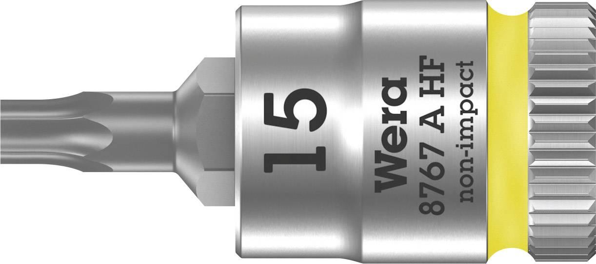 """Nástrčný kľúč, Torx Wera 8767 A 05003363001, 1/4"""" (6,3 mm), chróm-vanadiová oceľ"""